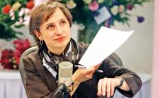 Mexican journalist Carmen Aristegui returns to radio