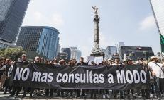 5,500 Mexicans march in favor of new airport