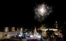 Christmas cheer at Jesus's traditional birthplace of Bethlehem