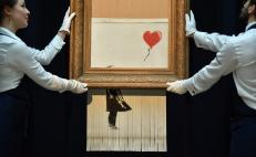 "Banksy triturado, ""Love is in the Bin"", será exhibido en Alemania"