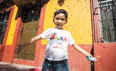 5-year-old entrepreneur makes sustainable confetti