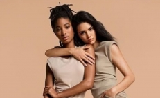 Kendall Jenner y Willow Smith juntas