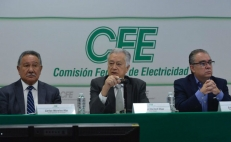 Director general de la CFE, Manuel Bartlett Díaz