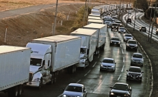 Mexico-U.S. border slowdown affects fuel imports