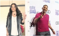 Kate del Castillo y Will Smith