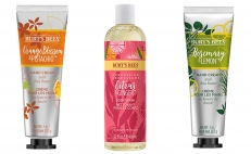 trivia burt bees, hand cream, body wash