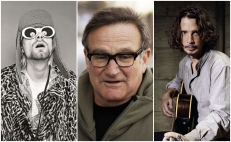 Kurt Cobain, Robin Williams y Chris Cornell
