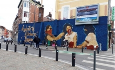 "French police forces deem Mexican mural ""offensive"""