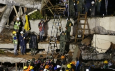 Mexico City arrests the owner of the Rébsamen school where 21 children died