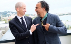 González Iñárritu is named Commander of the Order of Arts and Letters in Cannes