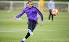 Harry Kane listo para la final de la Champions