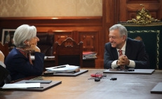 Christine Lagarde congratulates AMLO for seeking inclusive growth