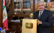 Mexico's President has over 1 million subscribers on Youtube