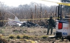 Two Mexico government officials killed in helicopter crash