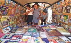 Retired couple takes literature to impoverished communities