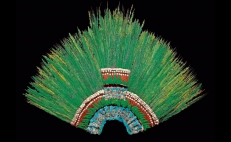 Fun facts about Moctezuma's headdress