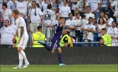 Valladolid le empata al Real Madrid