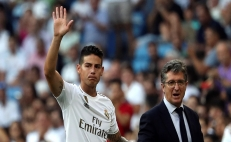 James Rodríguez es baja indefinida para Real Madrid