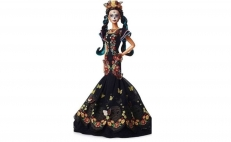 Day of the Dead Barbie doll is here!