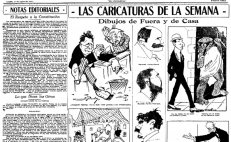 100 Years of Cartoons in El Universal to be exhibited in Washington