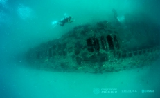 INAH archeologists discover WWI submarine in Mexican coasts