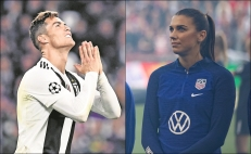 Alex Morgan repudia a Cristiano Ronaldo por su escándalo sexual