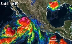 """Lorena"" forecast to become category 1 hurricane again"