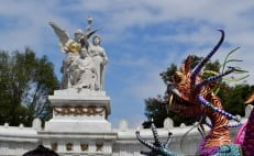 Alebrijes take over Mexico City for Day of the Dead