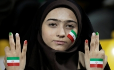 Iran women attend first soccer match in 40 years