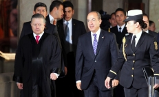 President of the Supreme Court says he was pressured by former Mexican President