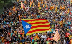 Spain jails Catalonia separatist leaders, sparking protests