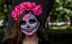 International Parade of the Dead in Mexico City