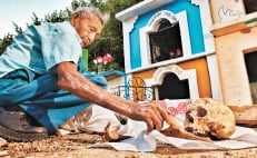 The mysterious bone cleaning ritual in Pomuch