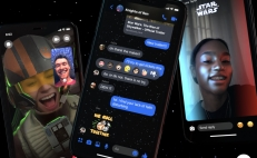 Facebook Messenger stickers Star Wars