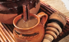 Champurrado, a traditional Mexican beverage