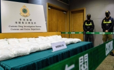 Mexican methamphetamine seized in Hong Kong