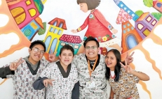 The Volunteer Warriors, a group of young survivors helping kids beat cancer