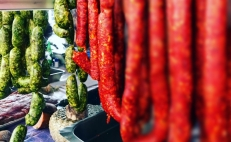 Ingredientes del chorizo verde