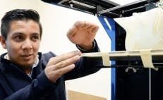 Mexican student designs 3D printer to create bones with biodegradable materials