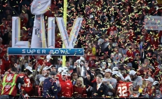 Kansas City Chiefs ganan el Super Bowl LIV en Miami