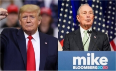 Donald Trump y Michael Bloomberg