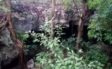 The Cave of the Stalagmite Temple, part of an underground network of archeological sites in Quintana Roo