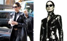 Kendall Jenner y Carrie-Anne Moss