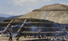 Evidence suggests Teotihuacan collapsed in 570 A.D.