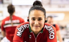 Jessica Salazar wins silver medal at the 2020 Track Cycling World Championship