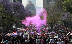 Women's Day 2020: Thousands of women took over Mexico to demand justice and equality through massive protests