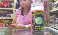 Mexicans use witchcraft to protect themselves against COVID-19