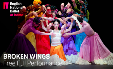 Watch Broken Wings, the ballet based on the life and work of Frida Kahlo