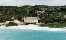 A mansion was illegally built inside a protected area in Tulum