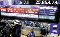Wall Street rebota optimista por acuerdo de EU y China